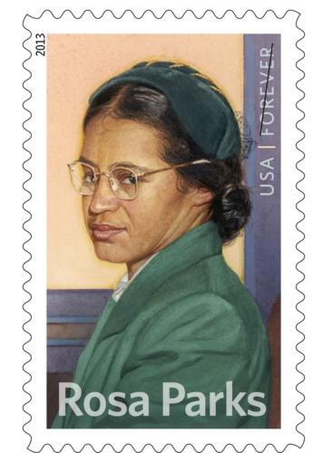 Rosa Parks Forever Stamp