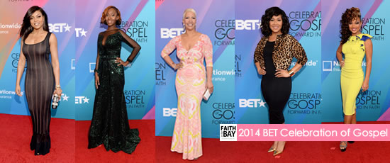 2014 BET Celebration of Gospel Red Carpet