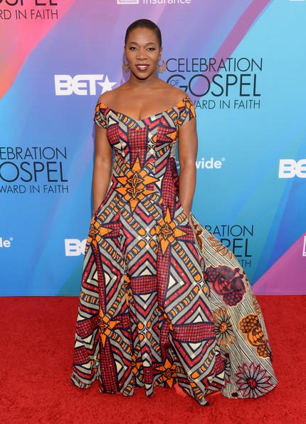 India Arie BET Celebration of Gospel 2014 Red Carpet