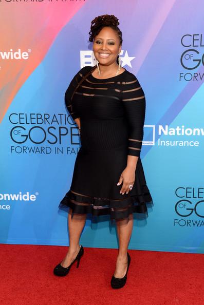 Lalah Hathaway BET 'Celebration of Gospel' 2014 Red Carpet