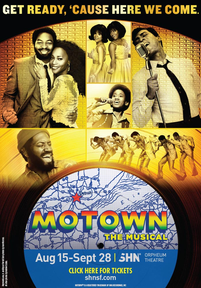 Motown the Musical SHN Orpheum Theatre