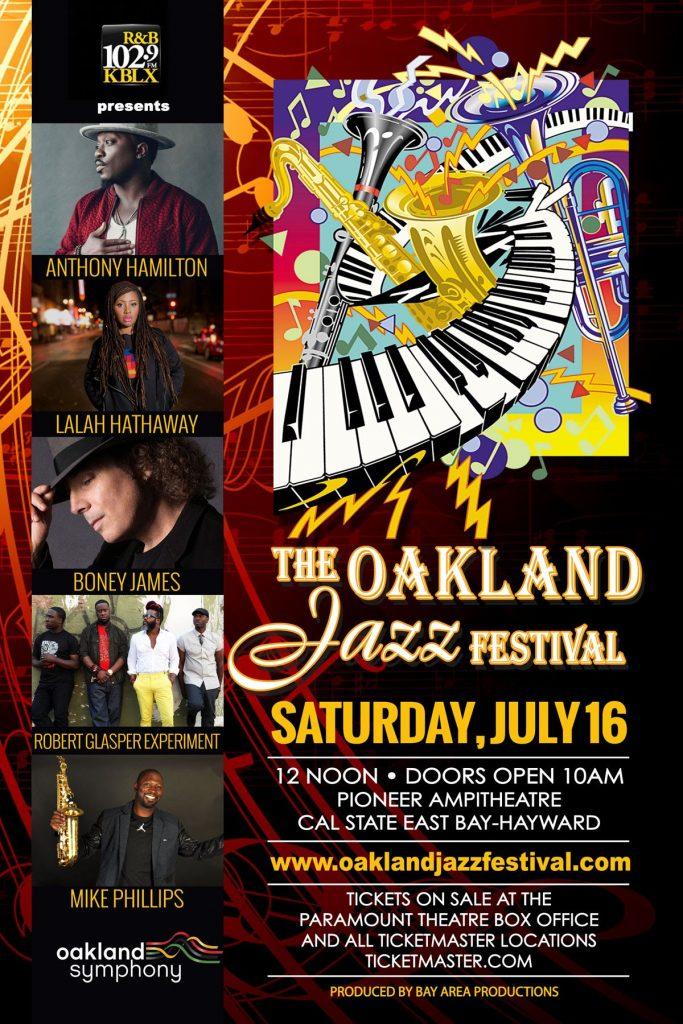 Oakland Jazz Festival 2016