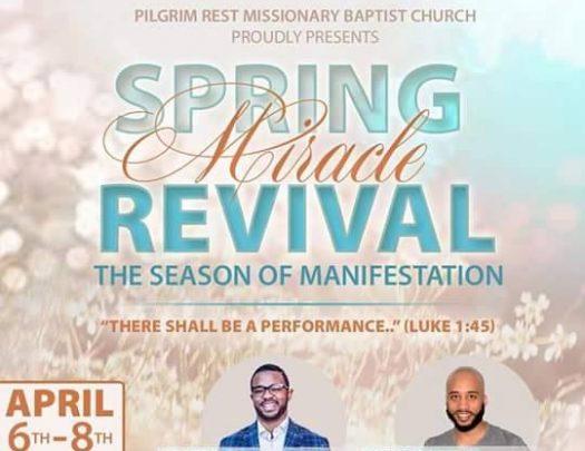 Pilgrim Rest Spring Revival