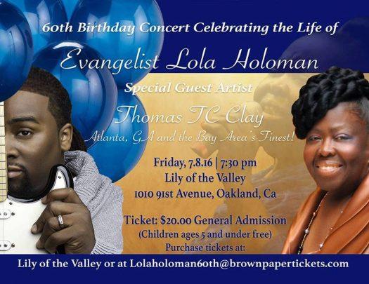 Evangelist Lola Holoman - 60th Birthday Celebration