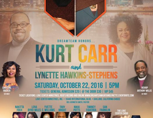 The Dream Team Kurt Carr & Lynette Hawkins Stephens Tribute