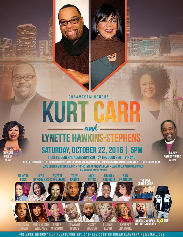 The Dream Team Kurt Carr & Lynette Hawkins Stephens Tribute