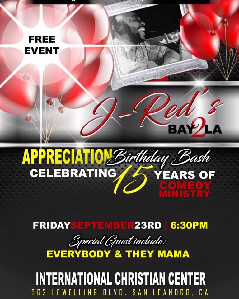 J-Red Birthday Bash