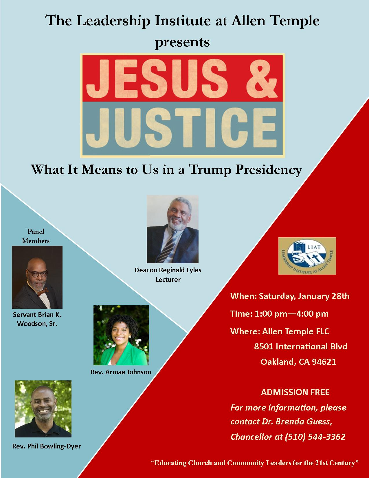 Jesus & Justice: What It Means to Us in a Trump Presidency