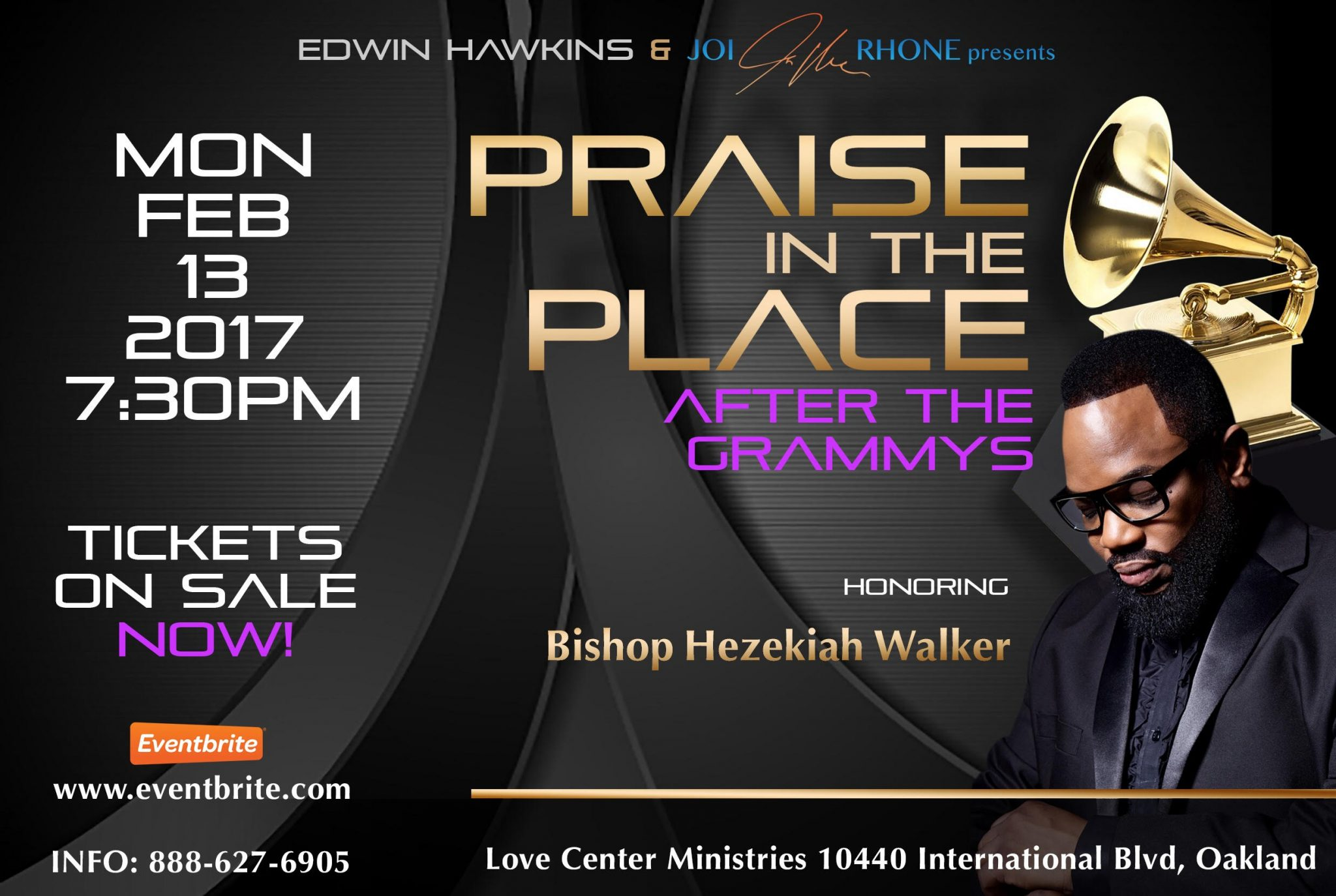 Praise In The Place: After the Grammys - Honoring Bishop Hezekiah Walker
