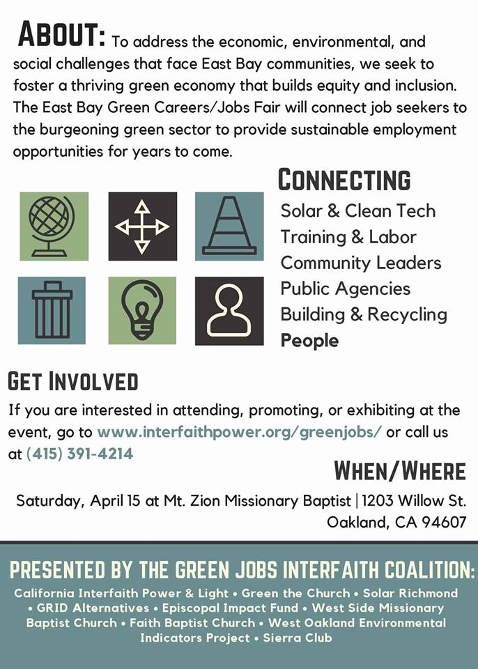 East Bay Green Jobs Fair