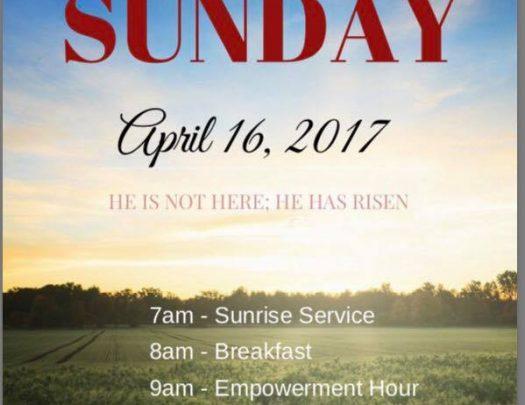 Calvary Hill Community Church – Easter Sunrise Service