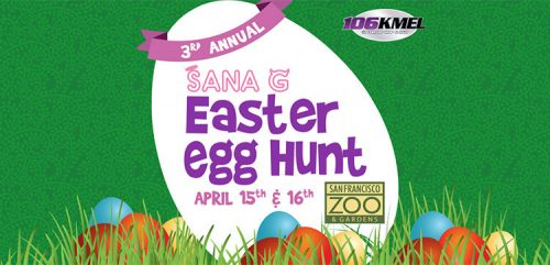 Sana G Easter Egg Hunt 2017