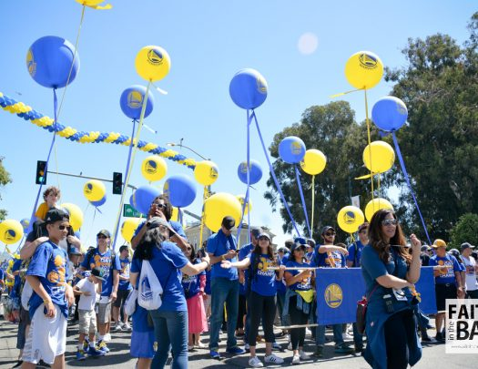 Warriors Championship Parade 2017