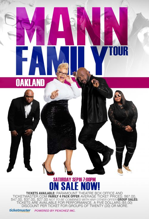 Mann Family World Tour Oakland