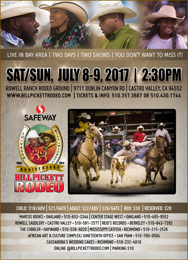 Bill Pickett Invitational Rodeo 2017