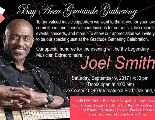 Bay Area Gratitude Gathering Honoring Joel Smith