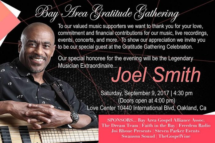 Bay Area Gratitude Gathering Honoring Joel Smith