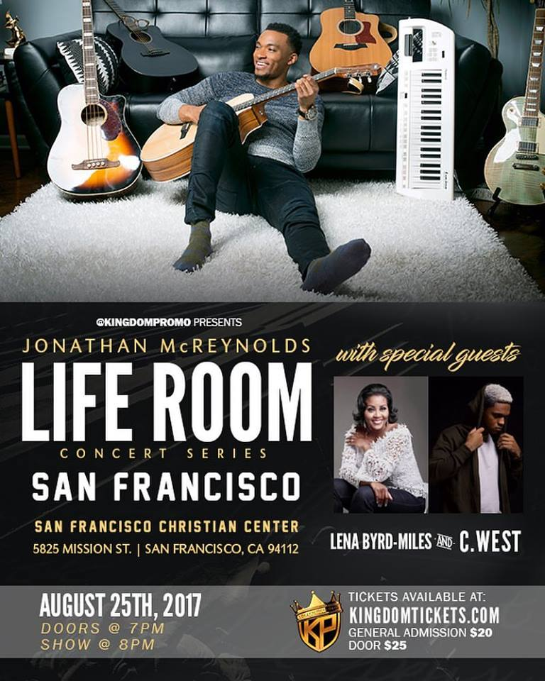 Jonathan McReynolds Life Room Concert Series