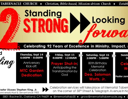 92nd Church Anniversary Fb