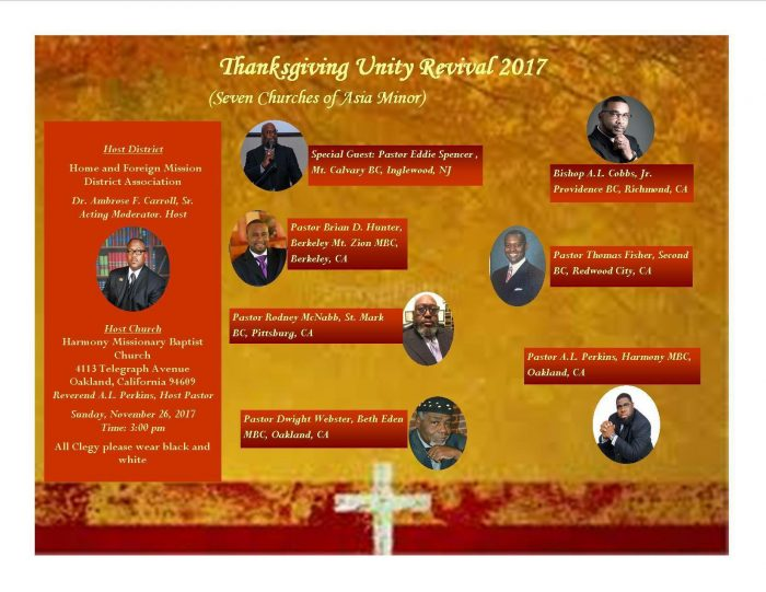 Thanksgiving Unity Revival