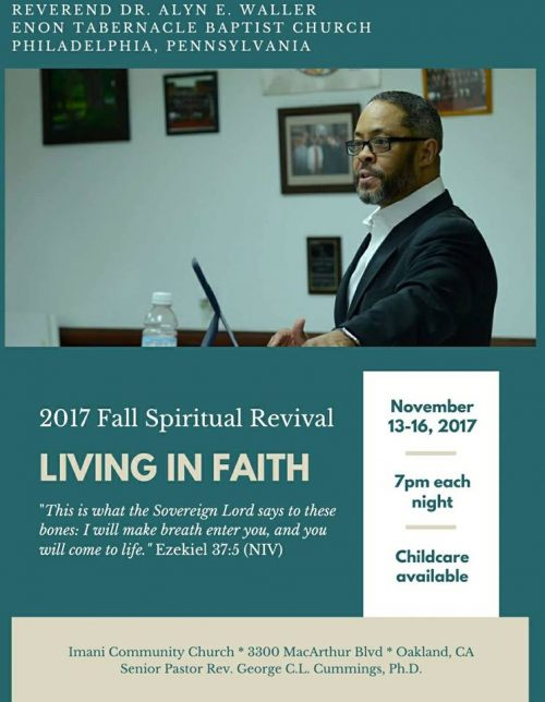 Imani Community Church - Fall Revival 2017