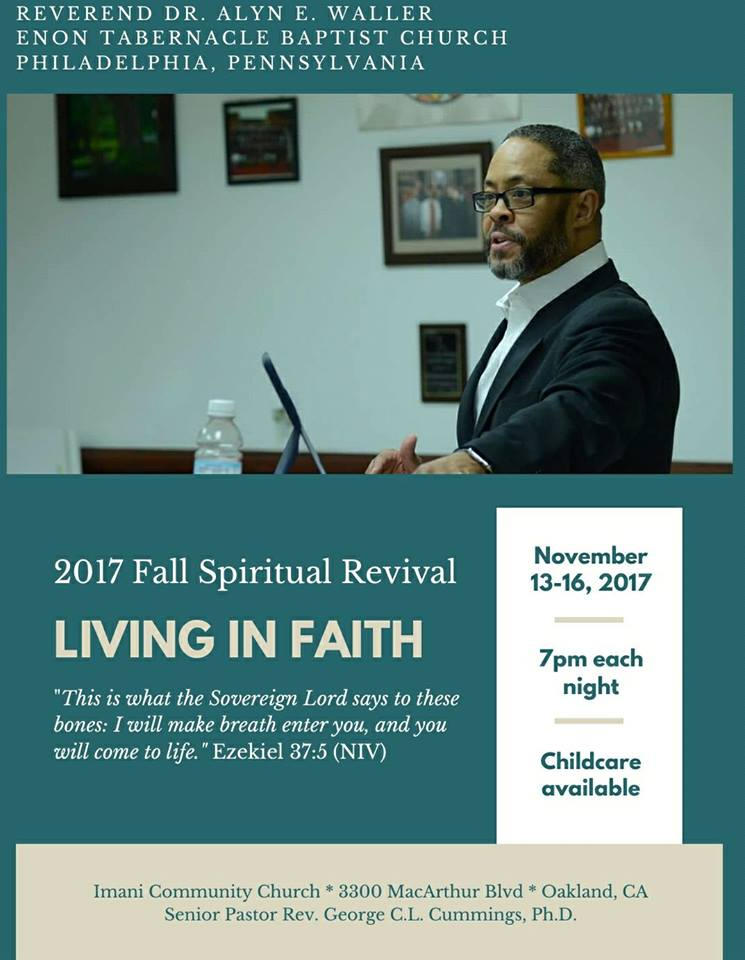 Imani Community Church - Fall Revival 2017
