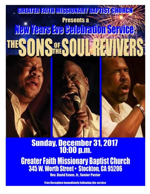 Greater Faith Missionary Baptist Church - New Year's Eve Celebration Service