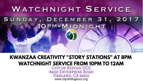 City of Refuge UCC Watch Night Service