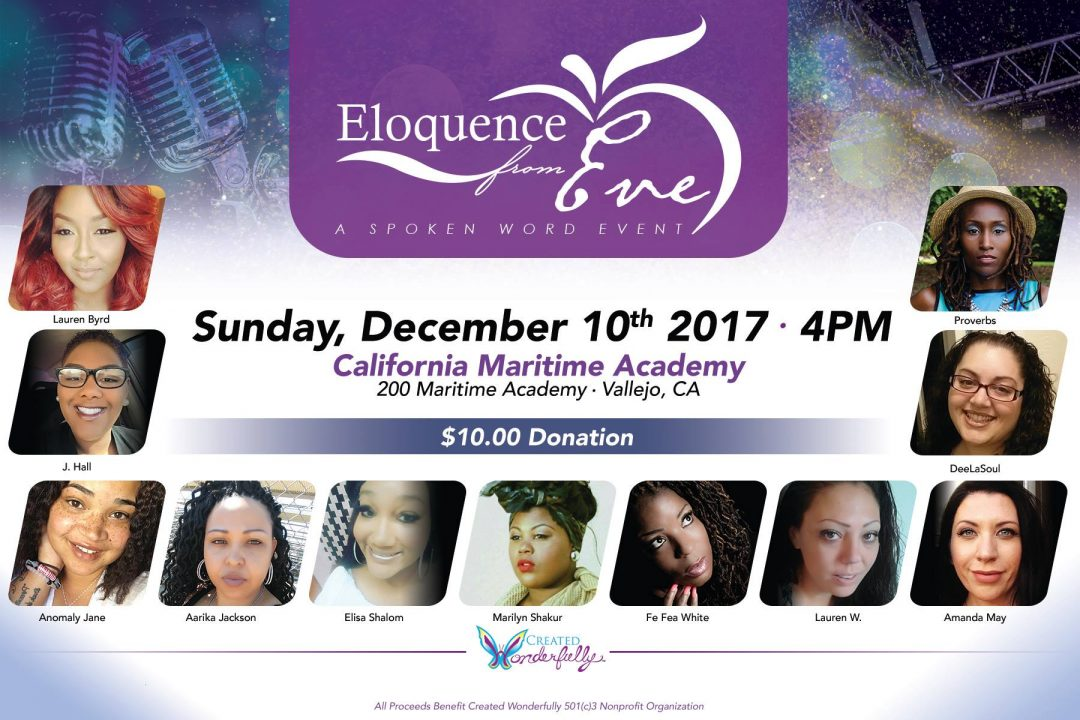 Eloquence from Eve - A Spoken Word Event