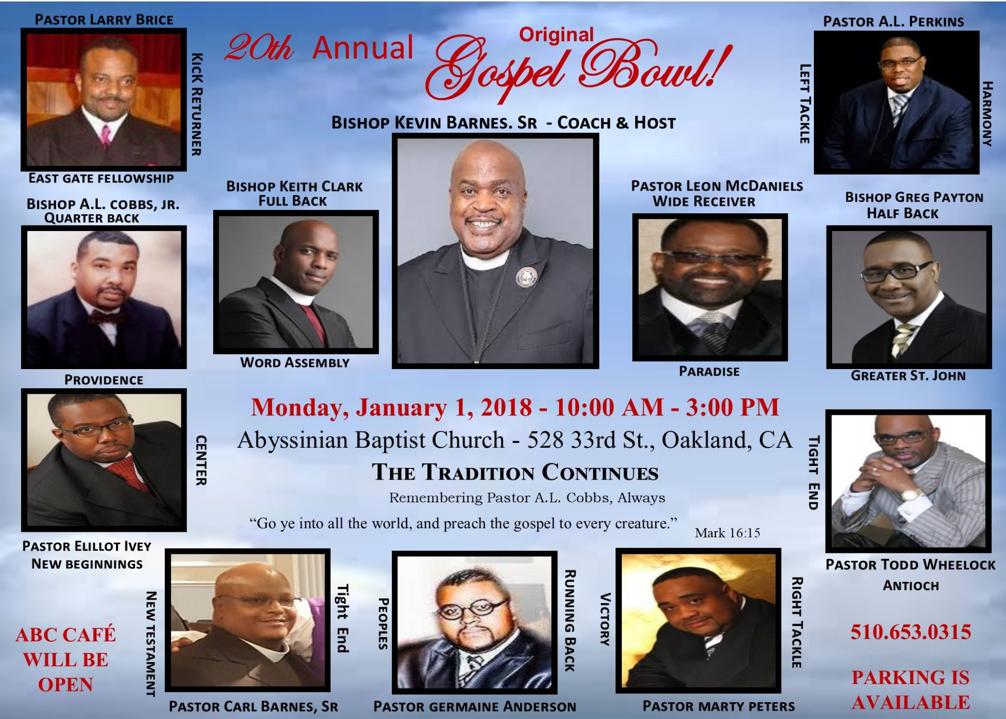 Gospel Bowl 2018