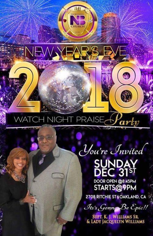 New Beginnings Church - Watch Night 2017