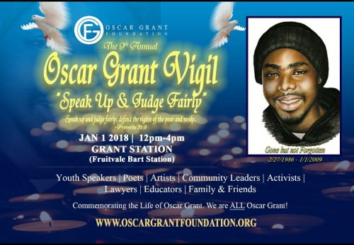 Oscar Grant Vigil