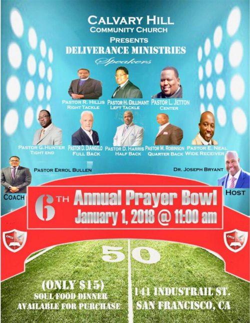 Prayer Bowl 2018