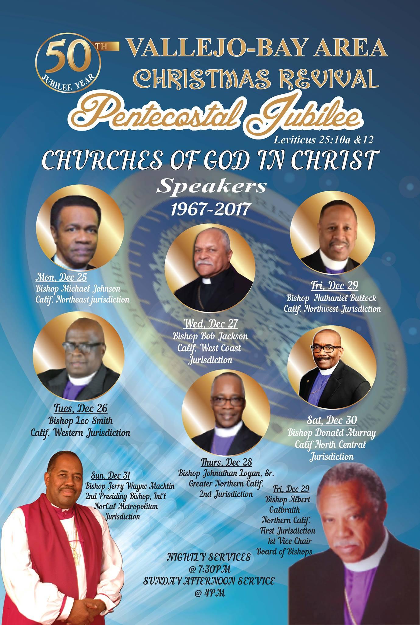 Pentecostal Jubilee: Vallejo - Bay Area Christmas Revival