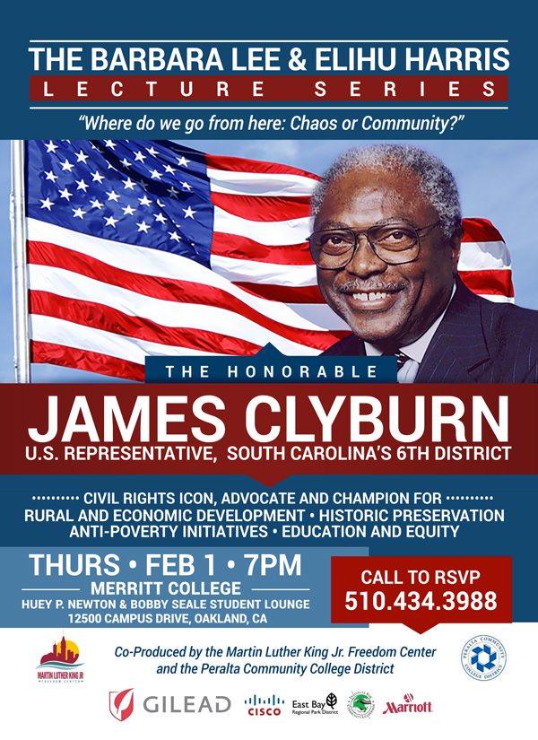 Barbara Lee & Elihu Harris Lecture Series - James Clyburn