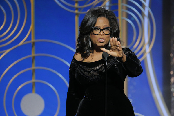 Oprah Golden Globe Awards Speech