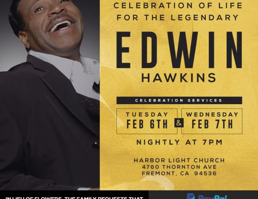 Edwin Hawkins Funeral Service