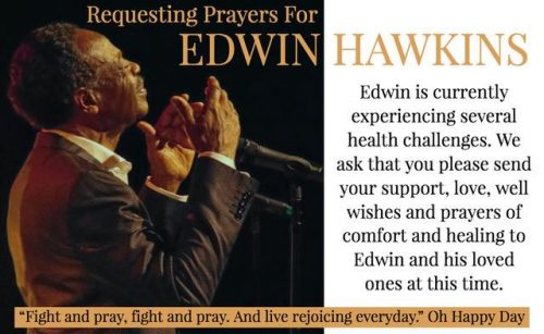 pray for edwin hawkins