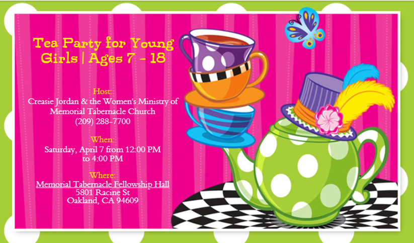 Girls Tea 2018 April 7
