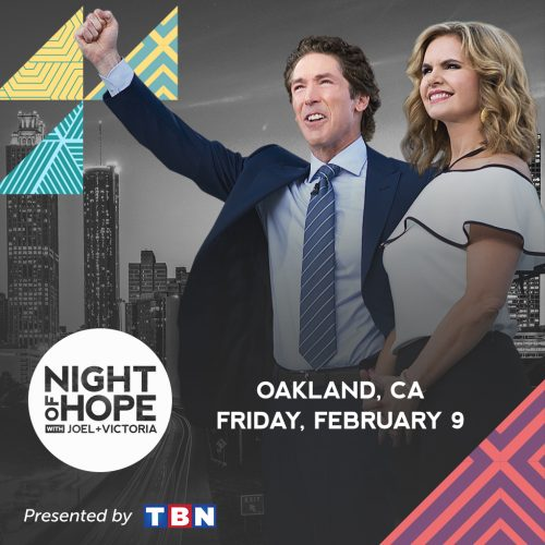 Joel Osteen Night of Hope Oakland