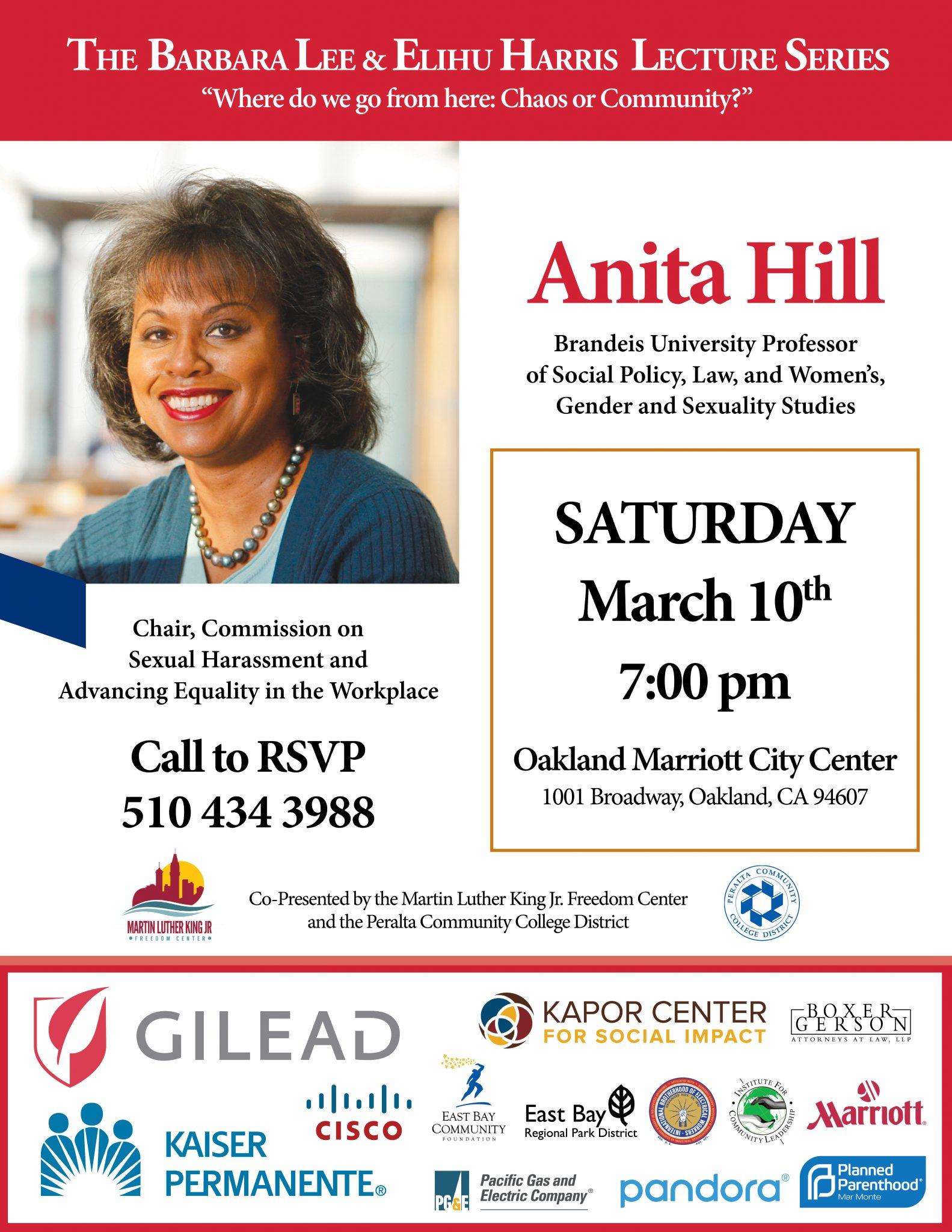 Anita Hill Oakland