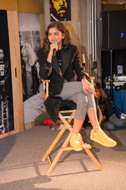 Google.org Celebrates Roses in Concrete Community School Hosted by Zendaya
