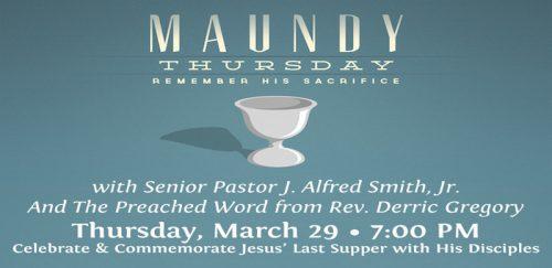 Allen Temple Baptist Church - Maundy Thursday