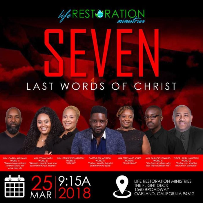Life Restoration Ministries - Seven Last Words