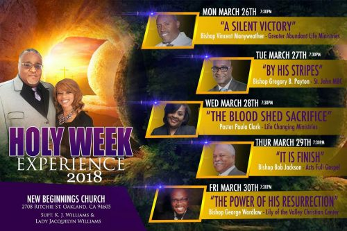 New Beginnings Holy Week Revival