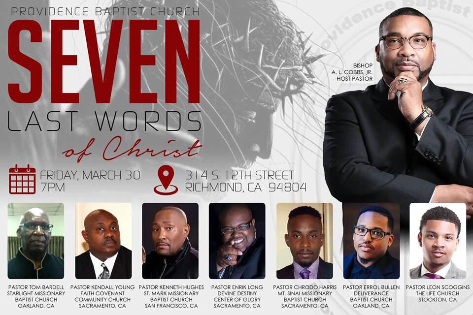 Providence Baptist Church - 7 Last Words of Christ