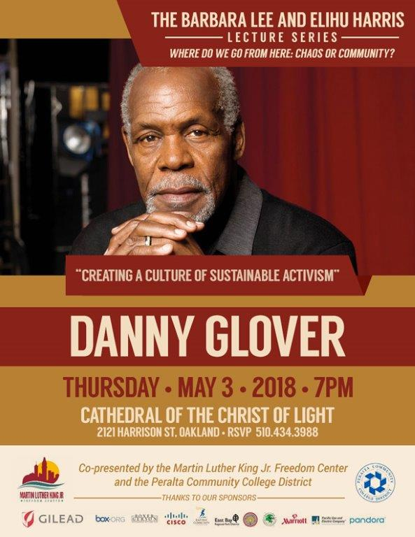 Barbara Lee & Elihu Harris Lecture Series with Danny Glover - Creating a Culture of Sustainable Activism