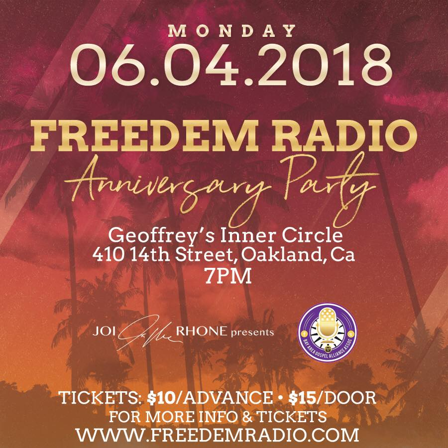 Freedem Radio Anniversary Party 2018