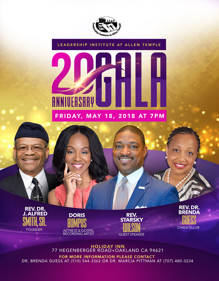 Leadership Institute at Allen Temple 20th Anniversary Gala