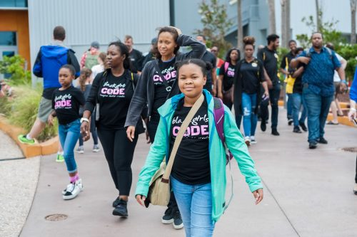 Black Girls Code Kennedy Space Center Tour
